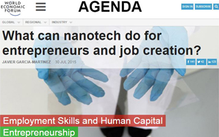 What can nanotech do for entrepreneurs and job creation?