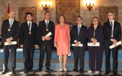 "Javier García Martínez, King Jaime I Award on ""New Technologies"""